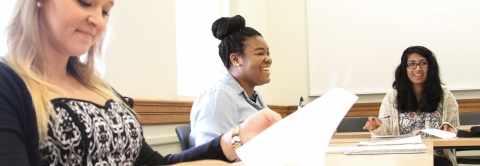 Students hone their writing skills in workshop-based classes offered by the Magid Center and other departments across campus